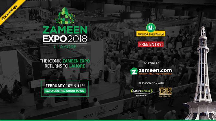 Zameen Expo 2018 - Lahore