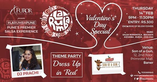 La Rumba - Valentines Day Special Party - 14th Feb 2019