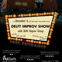 Live Comedy Delft Improv Show