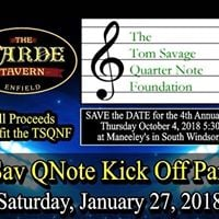 The Savs at the Tom Savage Quarter Note Foundation Fundraiser