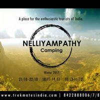TMI Nelliyampathy Camping On 10th-11th Dec17.