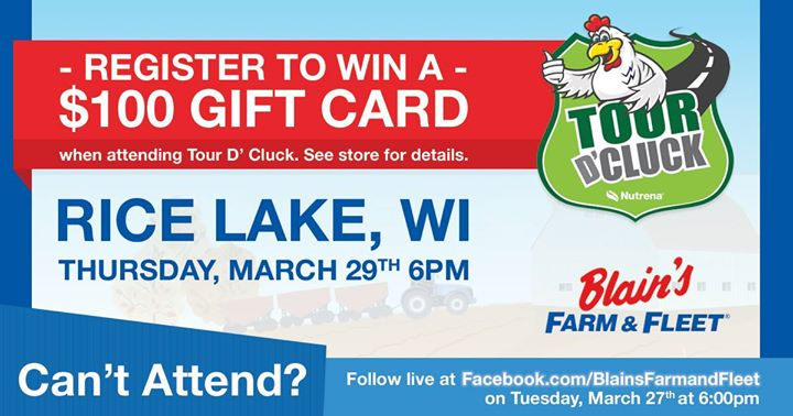 farm and fleet rice lake wi