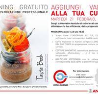 Cook&ampChange ad Albenga (SV)