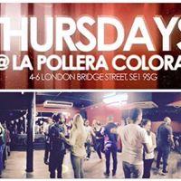 Every Thursday CALI SALSA at La Pollera  Titos Classes &amp Party