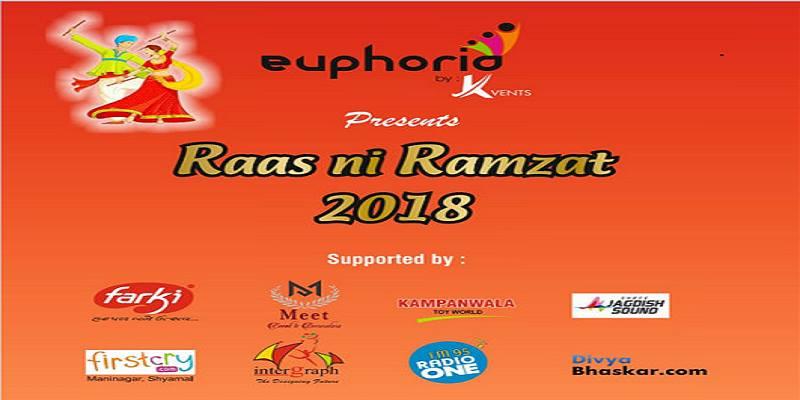 Euphoria Raas Ni Ramzat Ahmedabad Navratri 2018