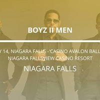 Boyz II Men in Niagara Falls