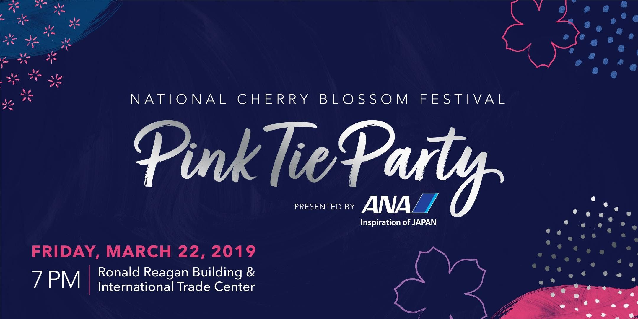 2019 National Cherry Blossom Festival Pink Tie Party