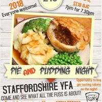Pie and Pudding Night