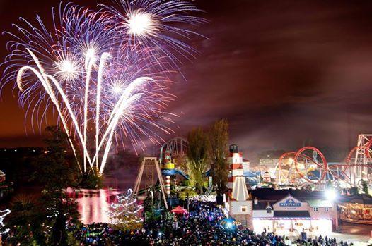Fireworks Bonfire Night And Fairground Attractions At Brandon Durham