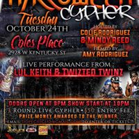 Pretty Girl Chronicles Presents The Halloween Cypher