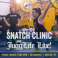 JuggLife Live  Snatch Clinic