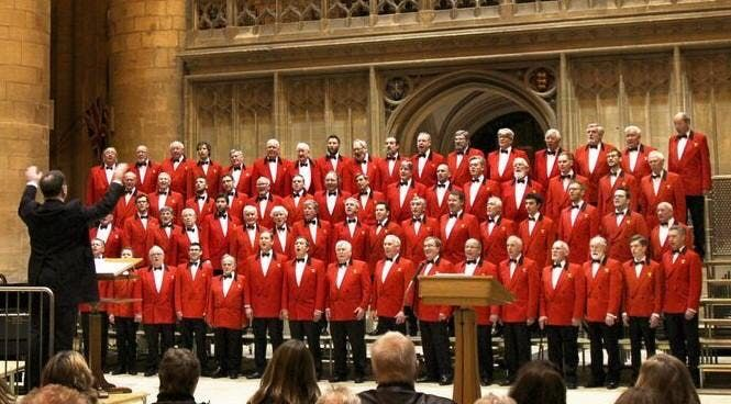 The London Welsh Male Voice Choir in Bruges