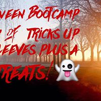 FANCY DRESS HALLOWEEN BOOTCAMP FOR ANTHONY NOLAN CHARITY