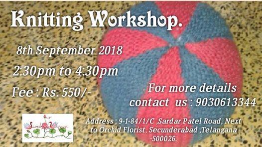 Knitting Workshop.