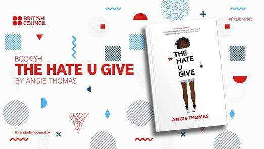 Bookish The Hate You Give by Angie Thomas