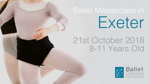 Exeter Ballet Masterclass 8-11 Years Old