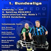 4. Spieltag der 1. Powerchair Hockey Bundesliga 20162017