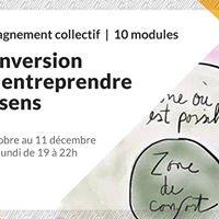 Ateliers &gt10 modules  Reconversion Oser entreprendre avec sens