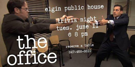 The Office Trivia Night at Elgin Public House, Elgin