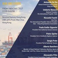 Lunch Seminar Italian Ports - the Bridge between Asia and Europe
