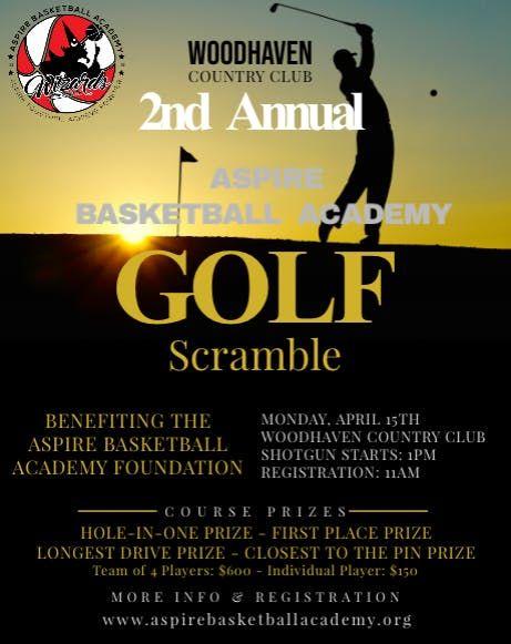 2nd Annual Aspire Basketball Academy Golf Scramble