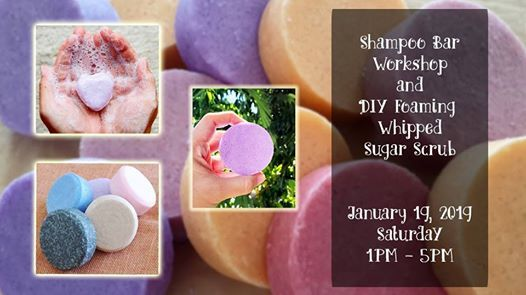 Shampoo Bar Making  Foaming Whipped Sugar Scrub Workshop