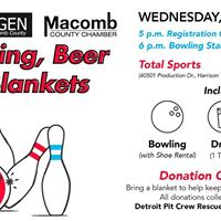 Bowling Beer &amp Blankets