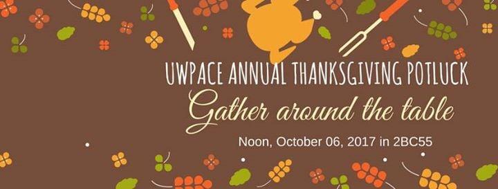 University of Winnipeg PACE Thanksgiving Potluck