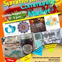 Summertime Community Market
