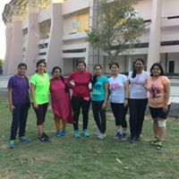 NCR Going Pink. Free Training Session At Noida Stadium.