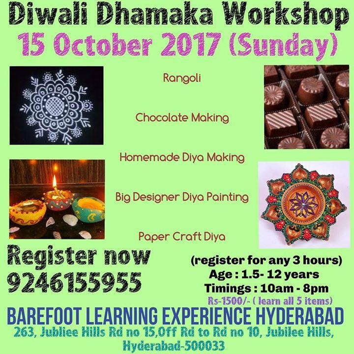 Diwali Dhamaka Workshop