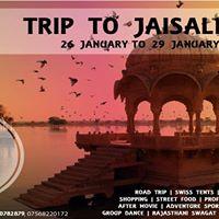 Jaisalmer Trip (Long Weekender)