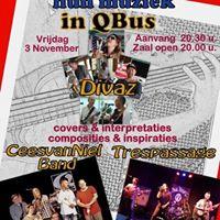 Cees van Niel Band Trespassage Divaz