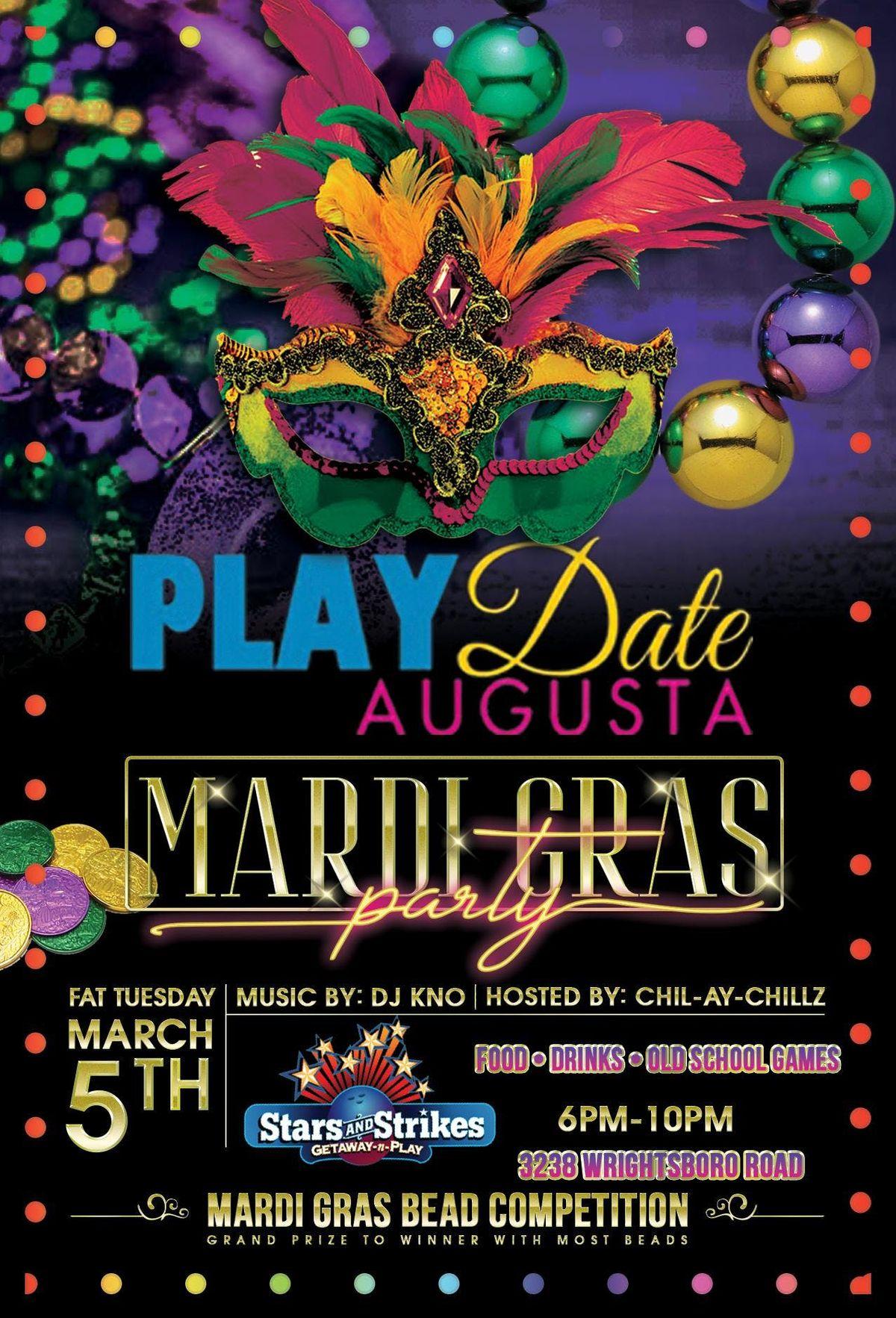Playdate Augusta Mardi Gras Edition