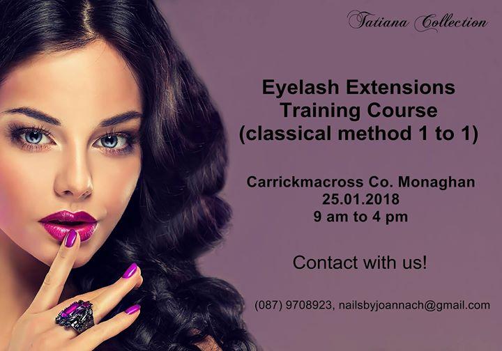 Eyelash Extensions Training Course 11 Technique At Tatiana