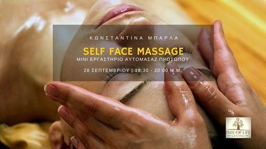 Self Face Massage -