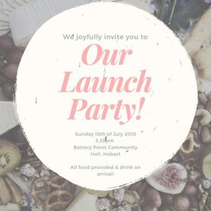 HOBART LAUNCH PARTY