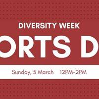 Diversity Week Sports Day