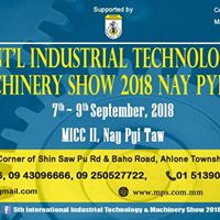 5th Intl Industrial Technology &amp Machinery Show 2018 NPT