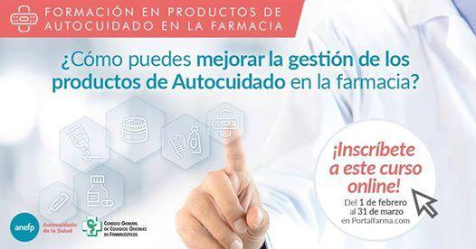 Curso Gestin de los productos de autocuidado en la Farmacia
