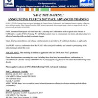 PACL Advanced Training - Norfolk