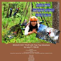 Baguio Day Tour with Tree Top Adventure