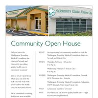 WTMF - Nakmura Clinic Community Open House