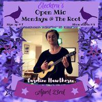 Caroline Hawthorne  Open Mic Feature