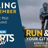 Decathlon Utsav Cycle Ride Qutub Minar