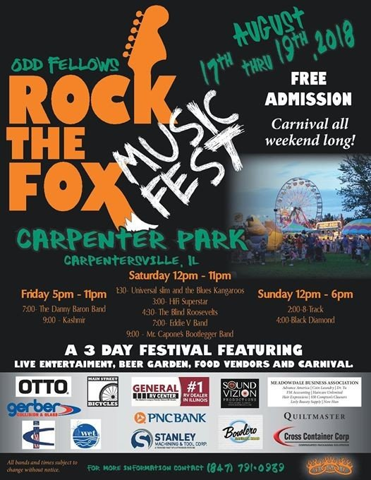 Rock The Fox Music Fest