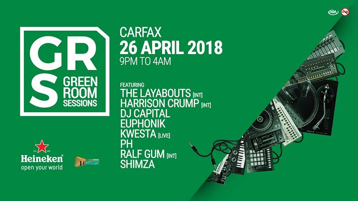 The Green Room Sessions At Carfax Newtown Johannesburg