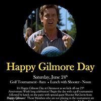 Happy Gilmore Day