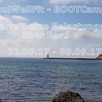 BOOTCamp 2017 WERFE DEINE Belastungen BER BORD