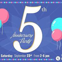 YallaYoga 5th Anniversary Party
